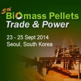 5TH BIOMASS PELLETS TRADE & POWER 2014