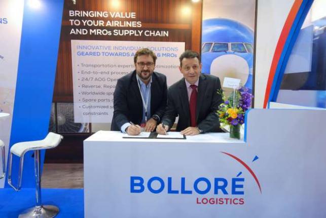 Bolloré Logistics Singapore and Aviation Partner And