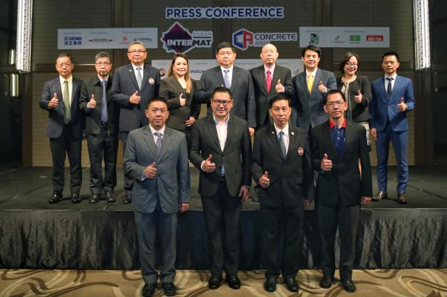 INTERMAT ASEAN and CONCRETE ASIA – Supporting Thai