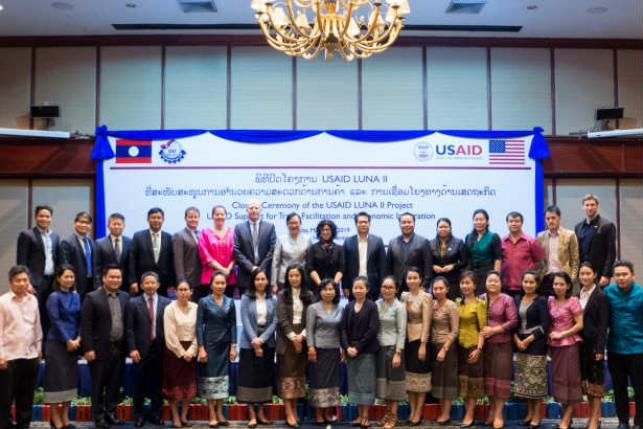 United States And Laos Celebrate Five